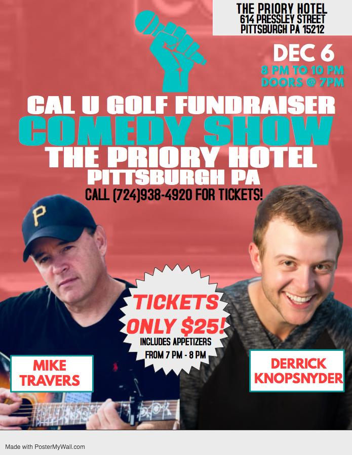 Comedy Show Benefiting the Cal U Golf Teams!