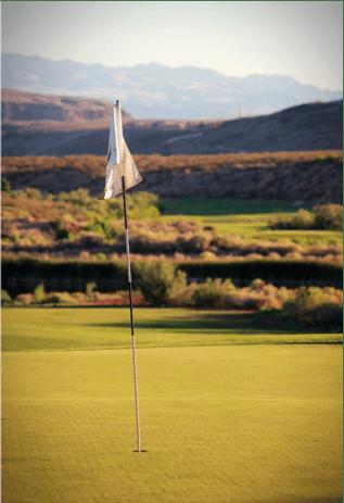 Golf Course Flag 1