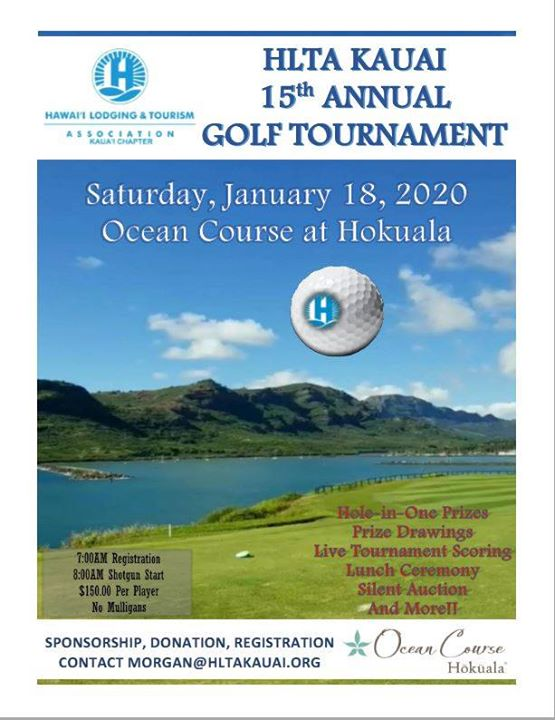 HLTA Kauai 15th Annual Golf Tournament