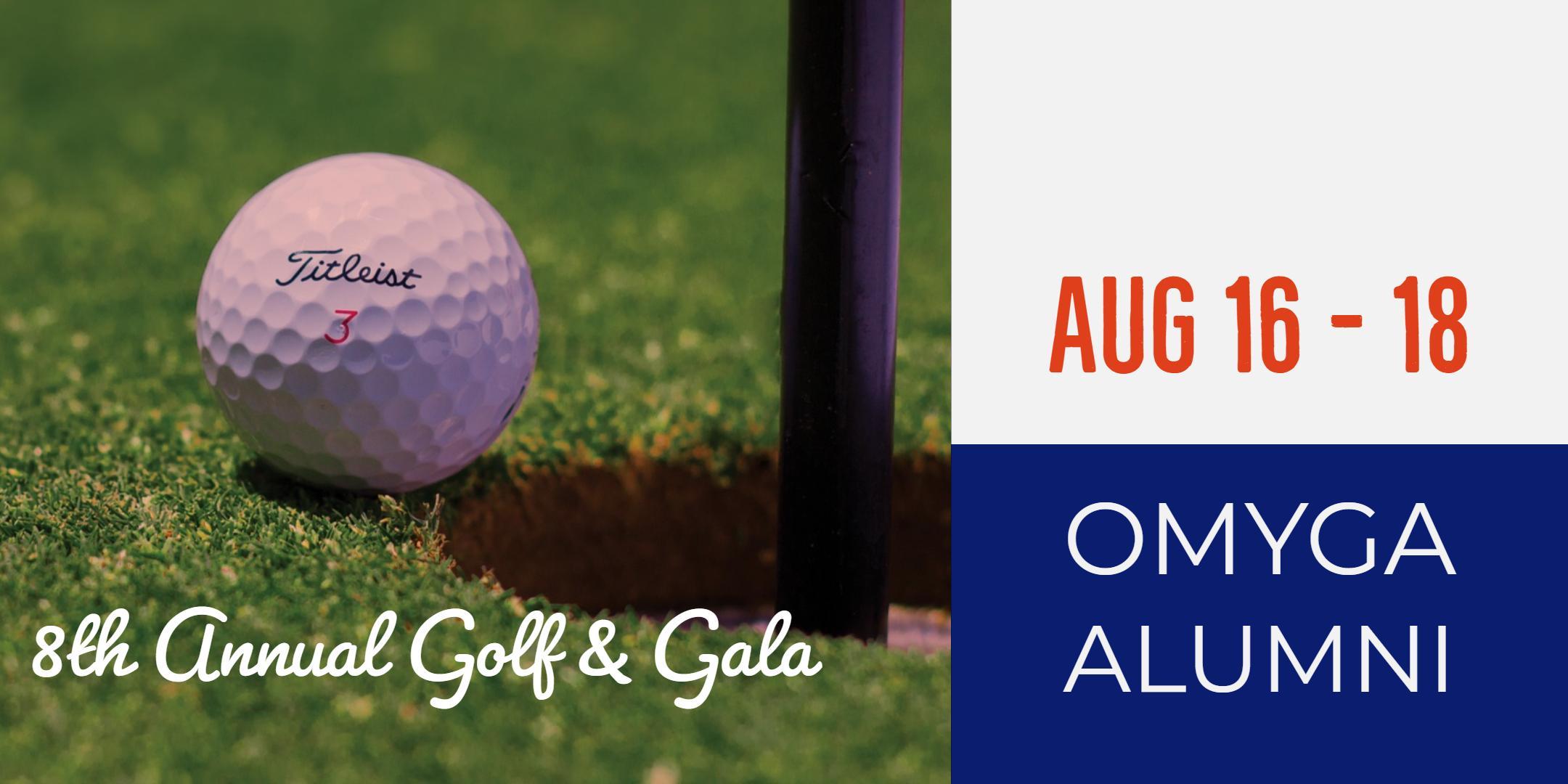 The 9th Annual OMYGA Alumni Golf & Gala Event