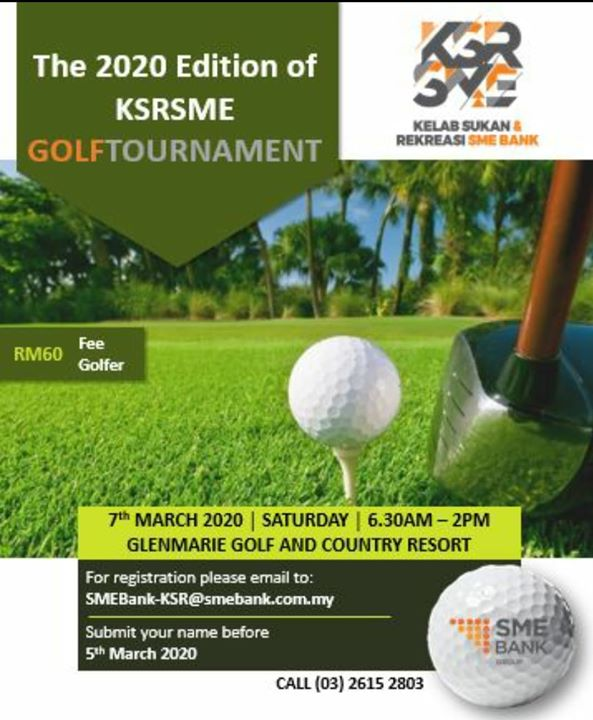 The 2020 Edition Of KSRSME Golf Tournament