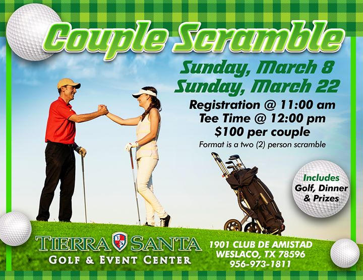 March Sunday Couple Scramble Tournament