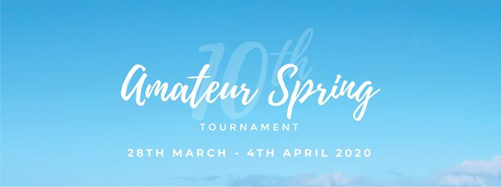 10th Amateur Spring Golf Tournament