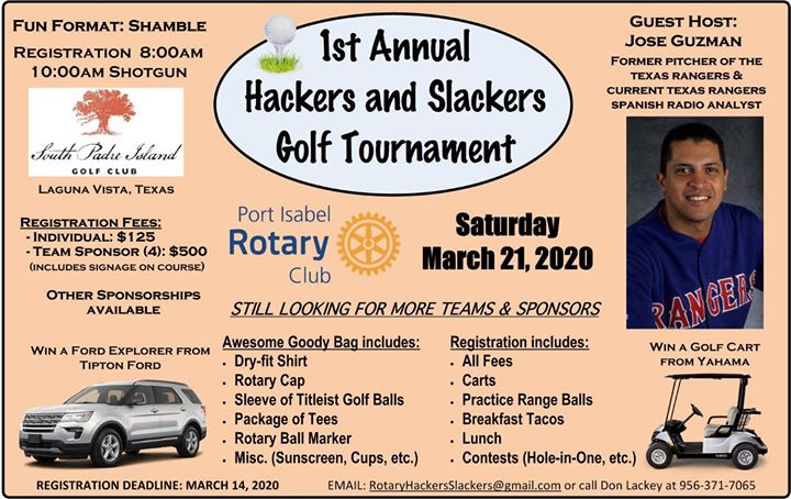 Hackers and Slackers Golf Tournament