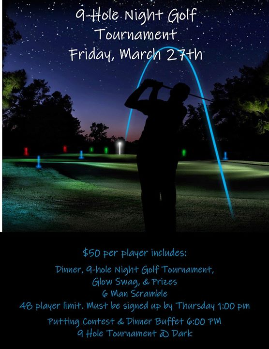 Night Golf Tournament