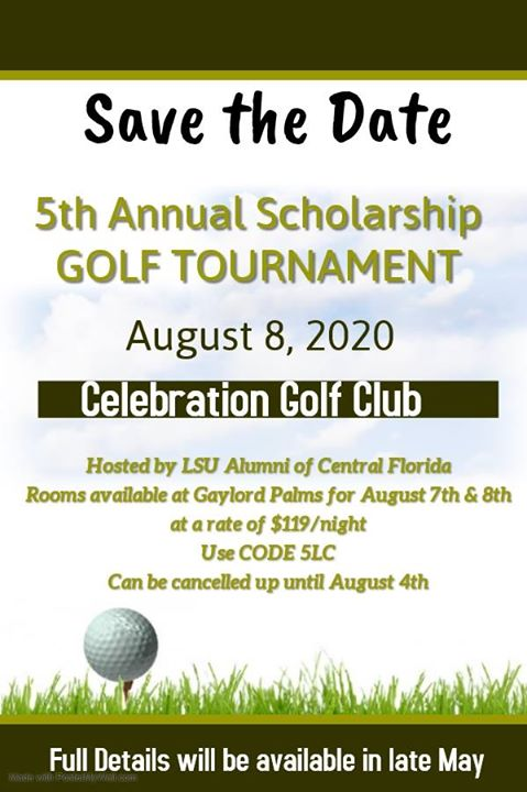 5th Annual Scholarship Golf Tournament