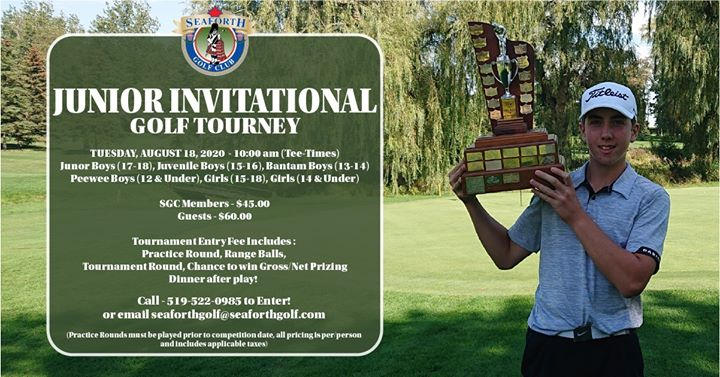 Seaforth Junior Invitational Golf Tournament