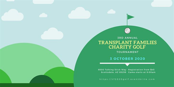 Transplant Families Annual Golf Tournament 2020
