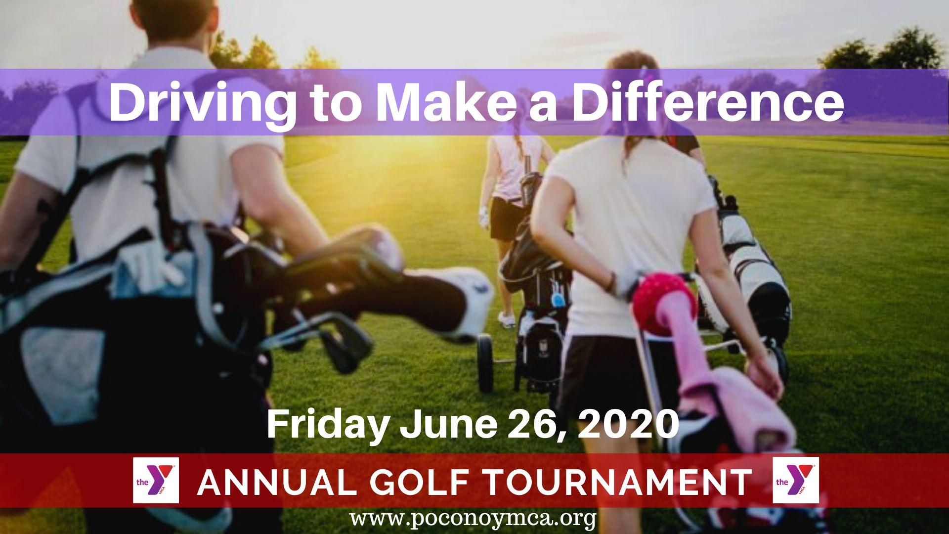 "Annual YMCA ""Driving to Make a Difference"" Golf Tournament"