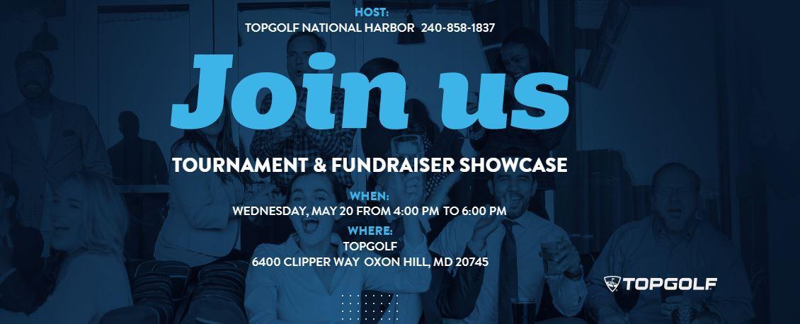 Topgolf National Harbor 2020 Tournament & Fundraiser Showcase