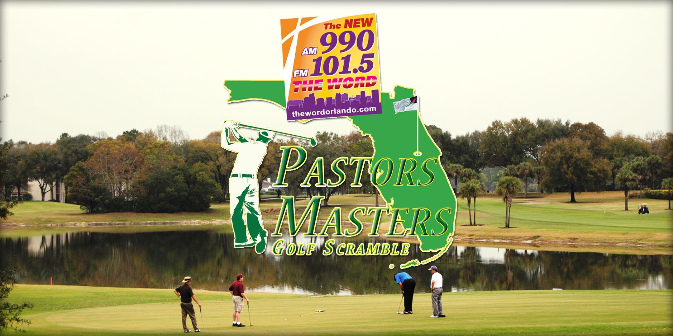 2020 Pastors Master Golf Scramble