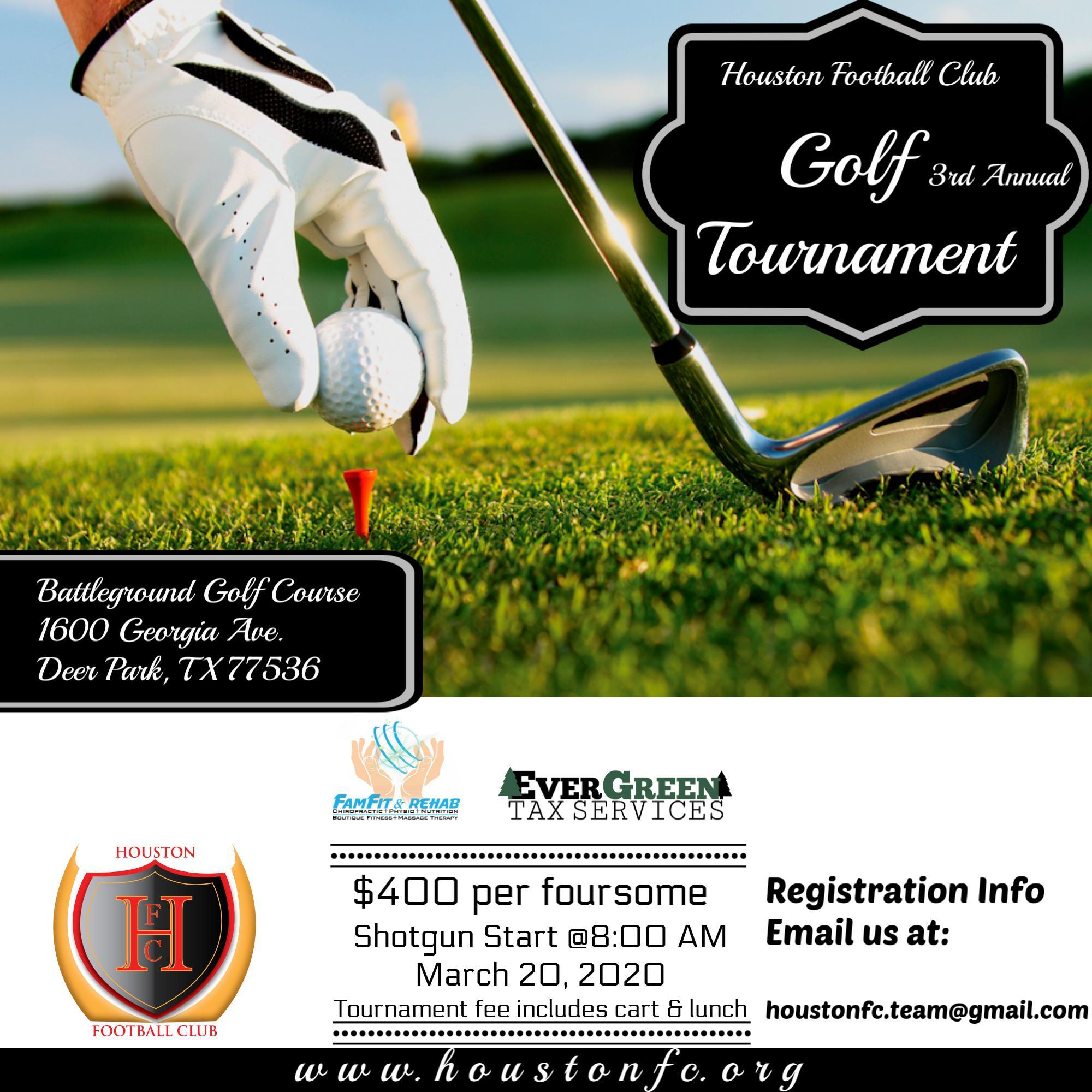Houston FC Golf Tournament