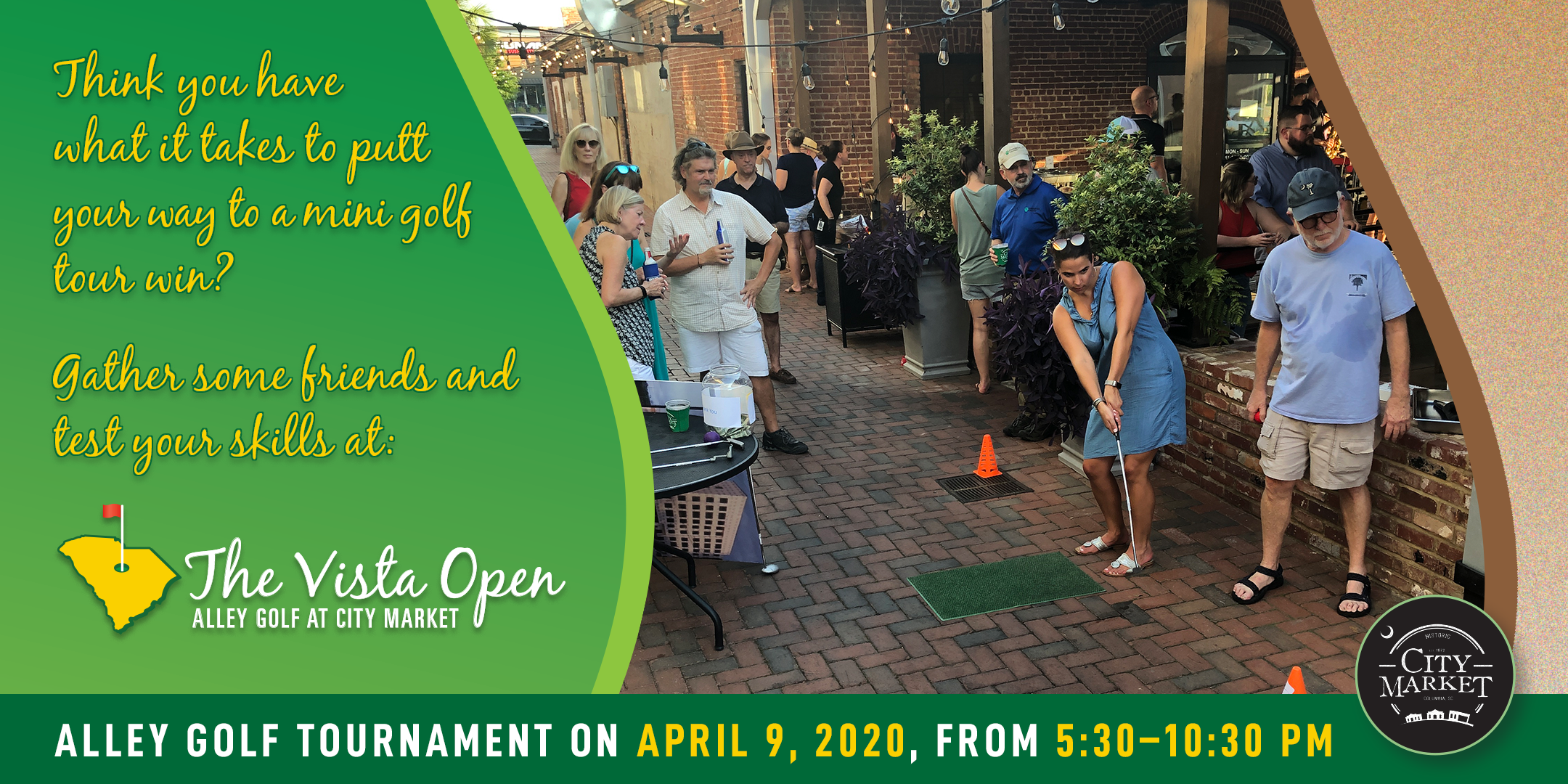 Vista Open - Alley Golf at City Market Tournament Registration
