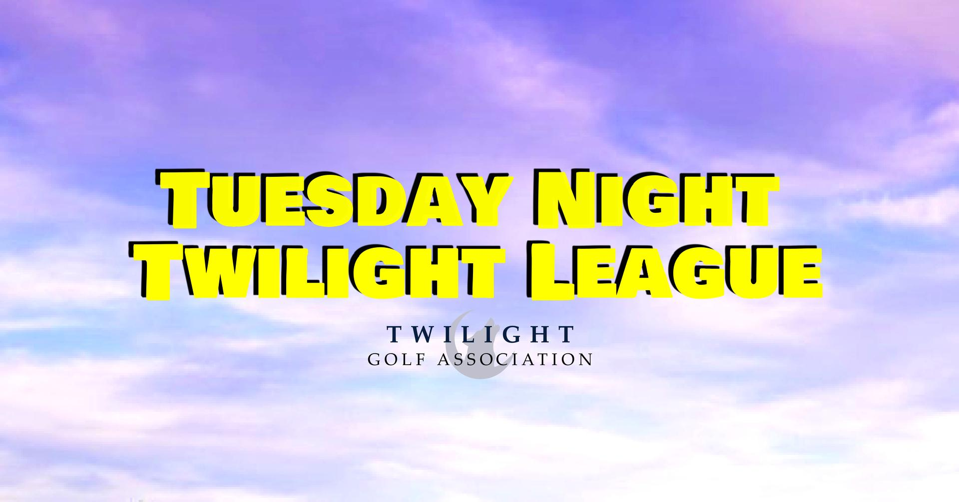 Tuesday Twilight League at 3 Lakes Golf Course