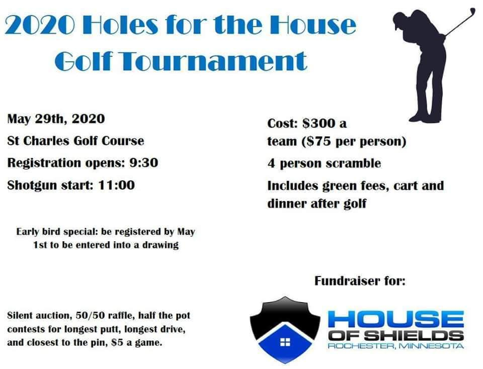 Holes for the House Golf Tournament