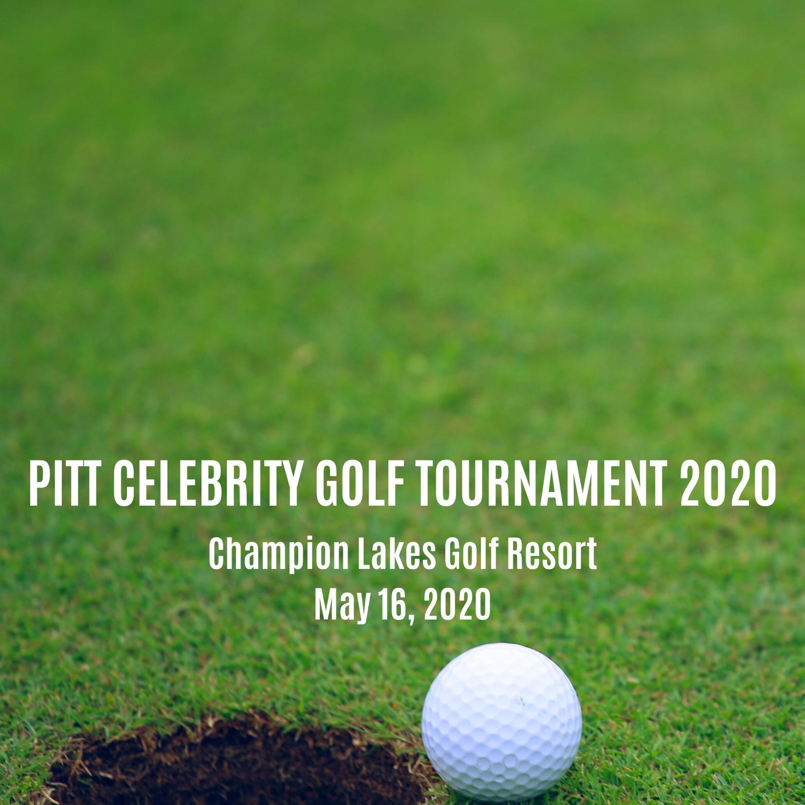 Pitt Celebrity Alumni Golf Tournament 2020