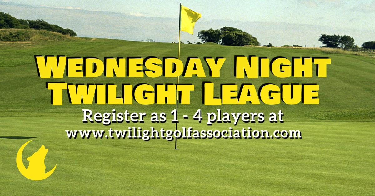 Wednesday Twilight League at Shaker Run Golf Club