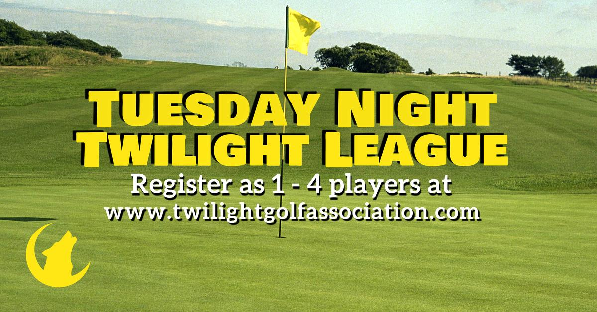 Tuesday Twilight League at Boughton Ridge Golf course