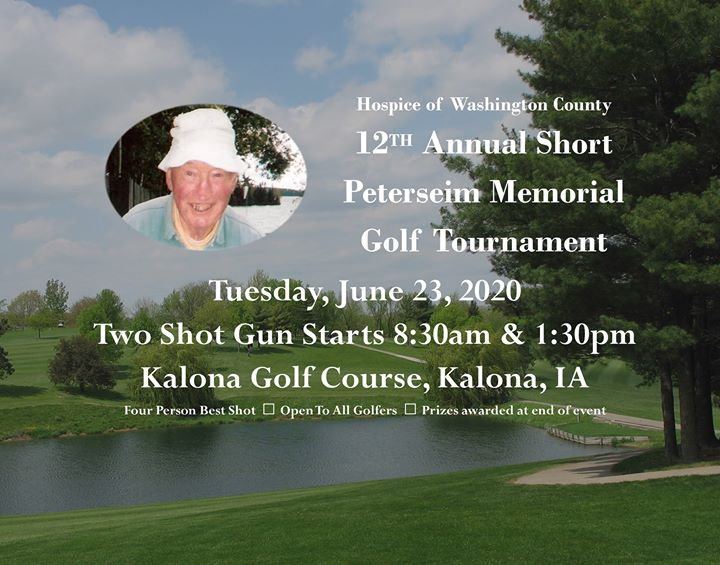 12th Annual Short Peterseim Memorial Golf Tournament