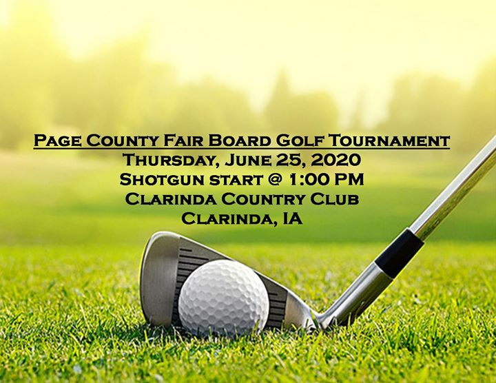 Page County Fair Board Golf Tournament