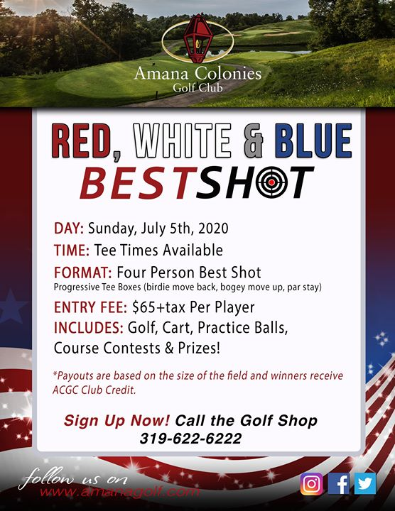 Red, White and Blue Best Shot