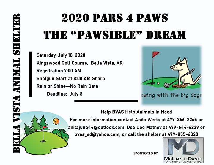 Pars 4 Paws Golf Tournament Fundraiser