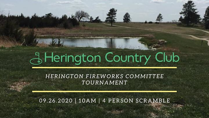 Herington Fireworks Committee Golf Tournament