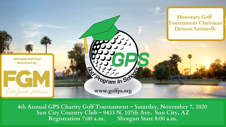 4th Annual GPS Charity Golf Tournament - New Date!