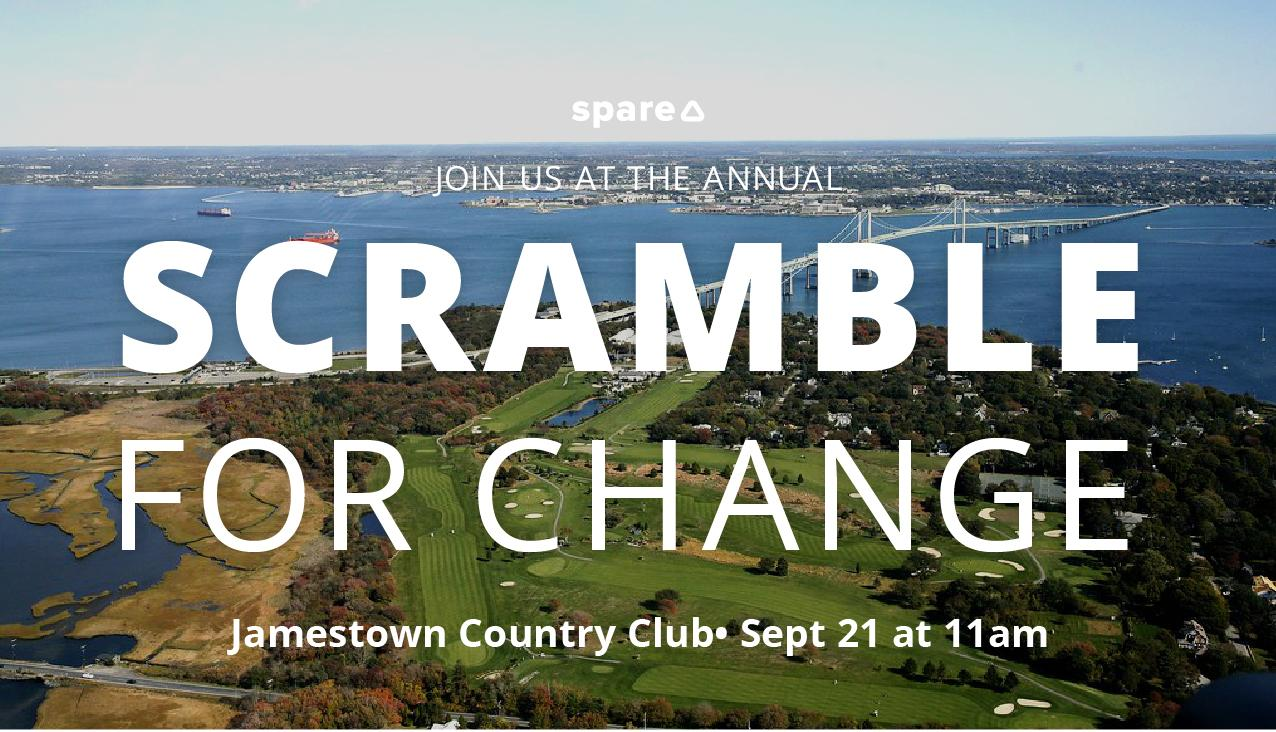 Scramble For Change — Golf Tournament Fundraiser