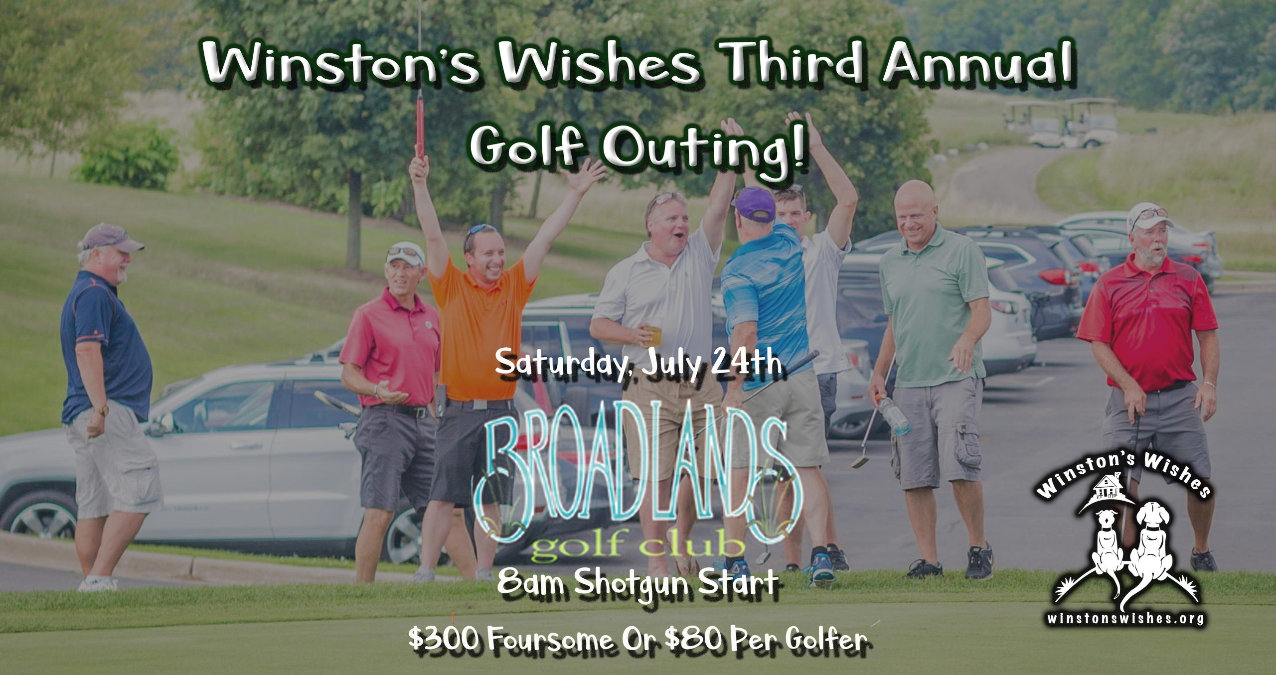 Winston's Wishes Third Annual Golf Outing