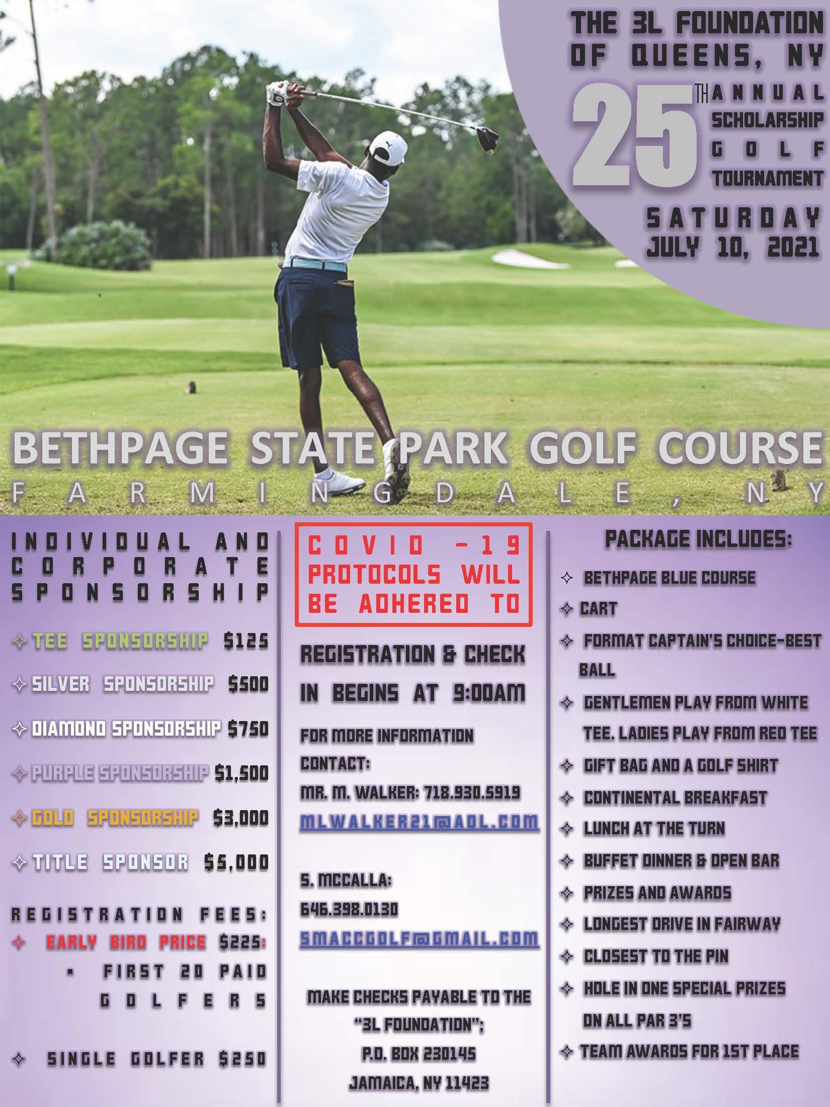 25th Annual Scholarship Golf Classic