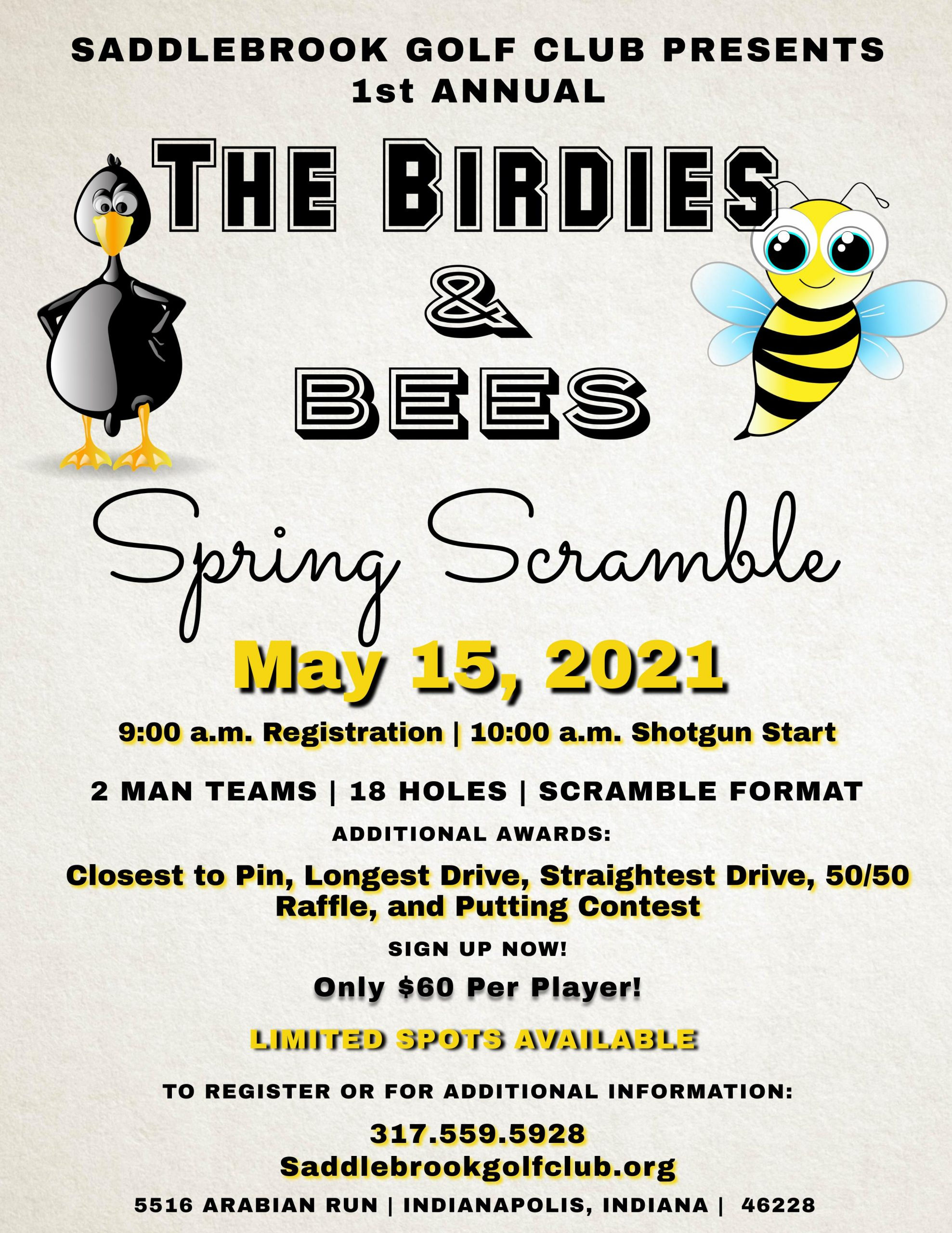 The Birdies & the Bees Golf Outing