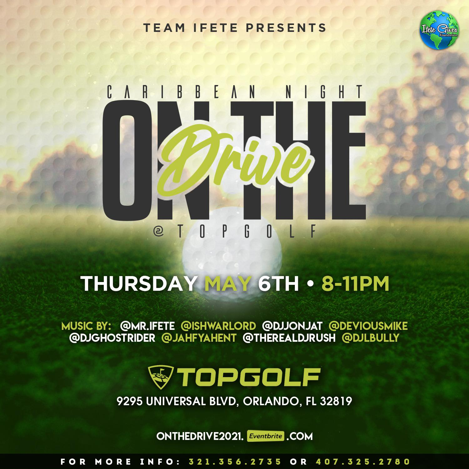 On The Drive @ TopGolf