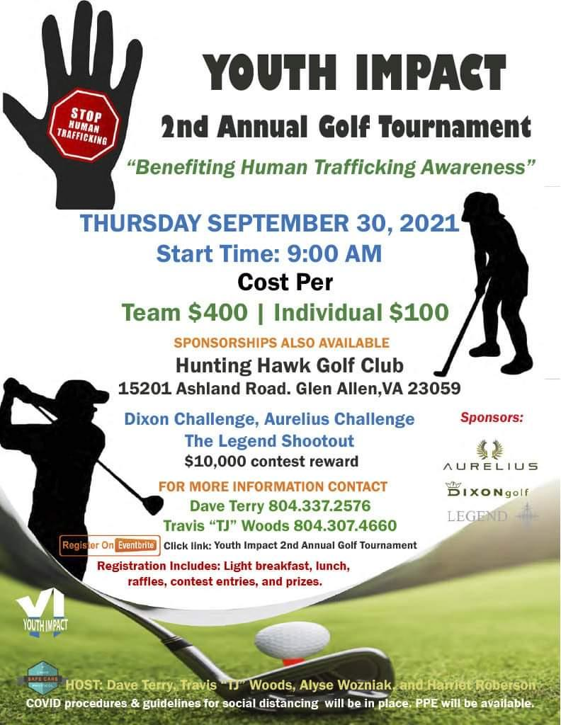 Youth Impact's 2nd Annual Golf Tournament 2021
