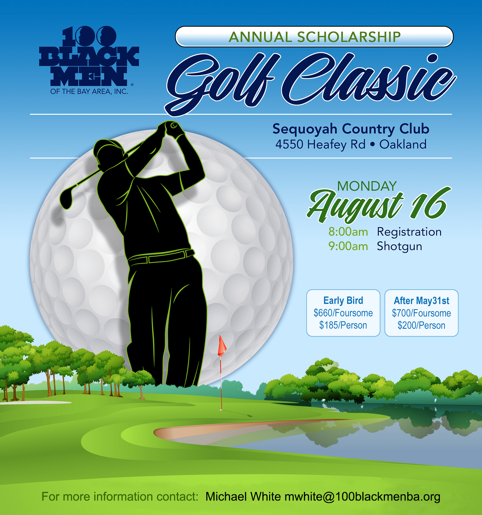 100 Black Men of the Bay Area's Annual Scholarship Golf Classic