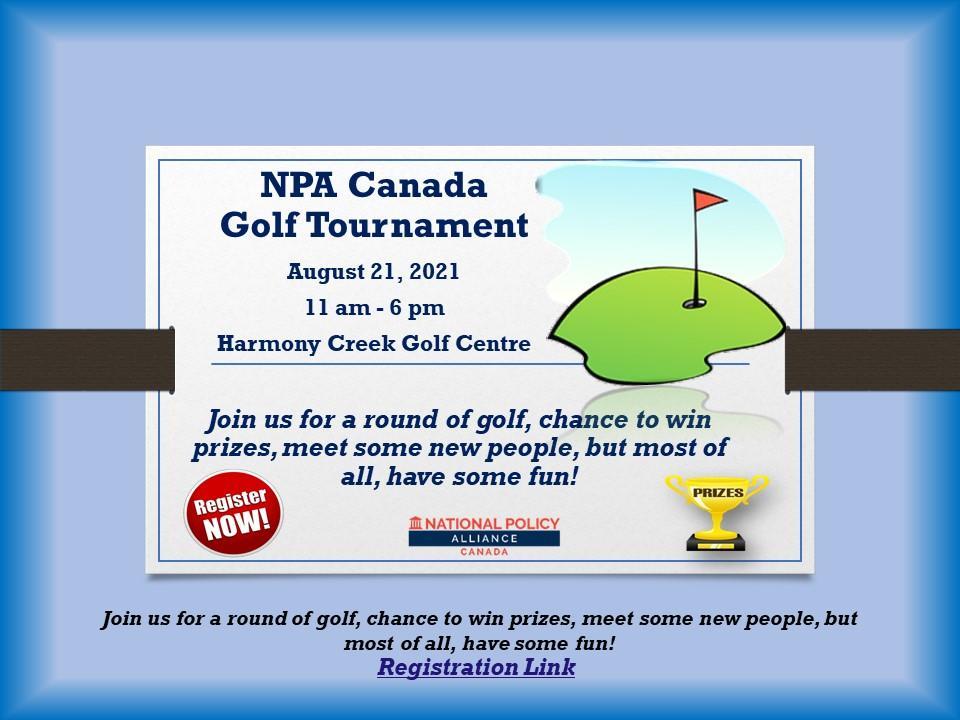 NPA Canada Golf Tournament