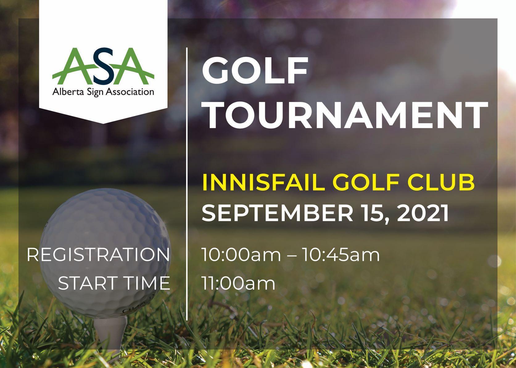 ASA 2021 Golf Tournament