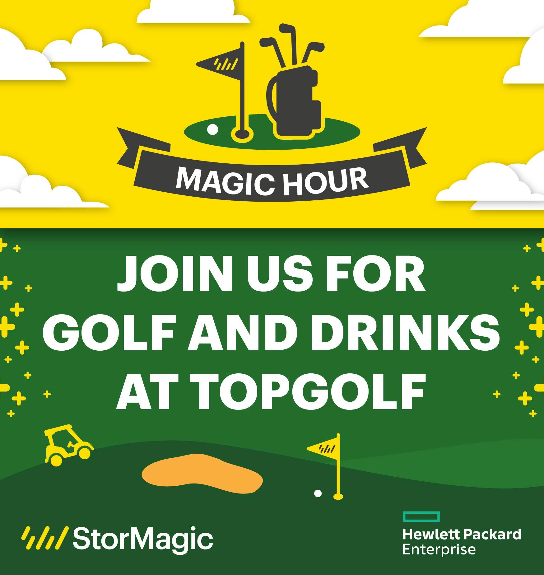 Top Golf with StorMagic and HPE