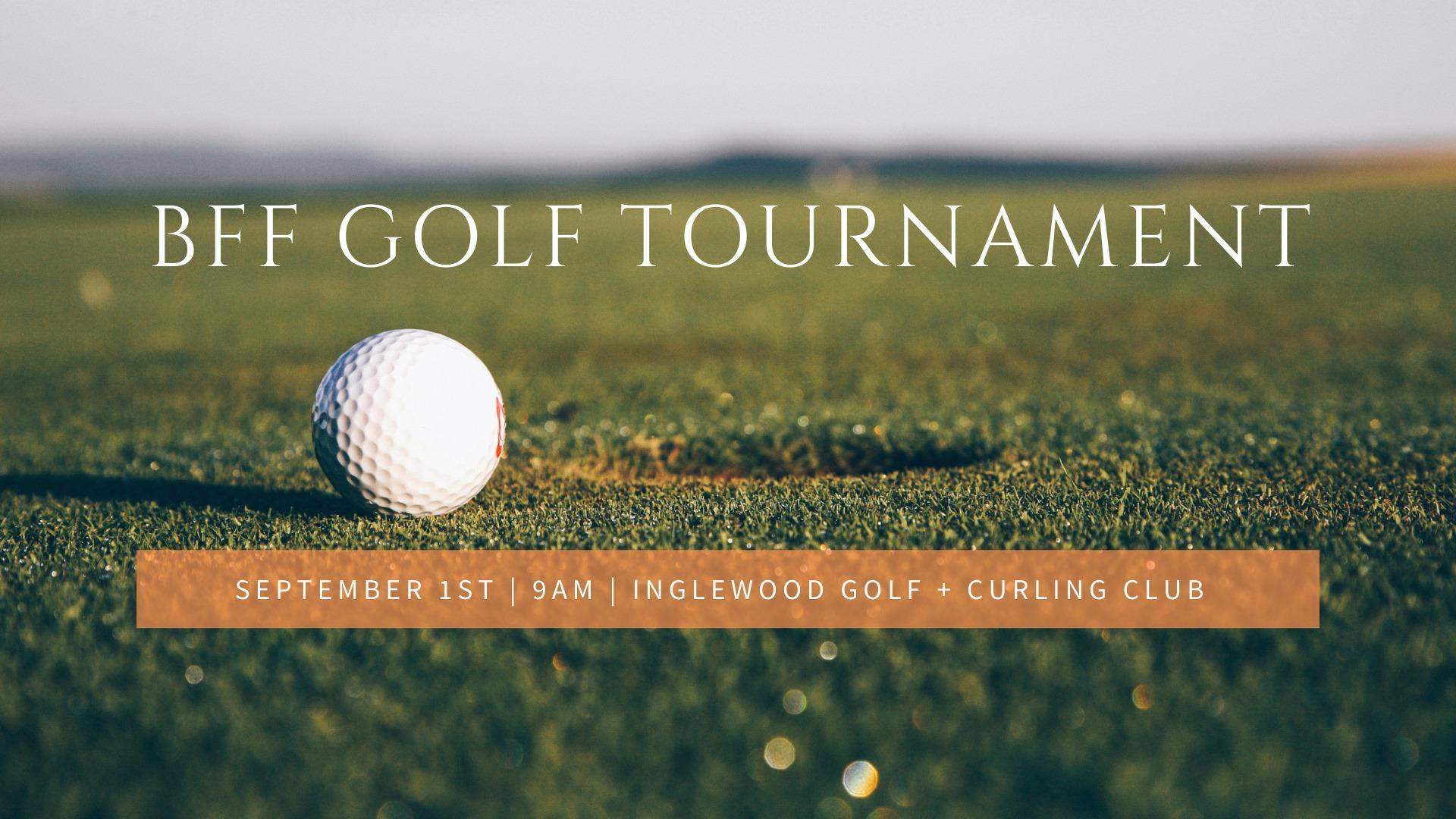Breaking Free Golf Tournament Fundraiser