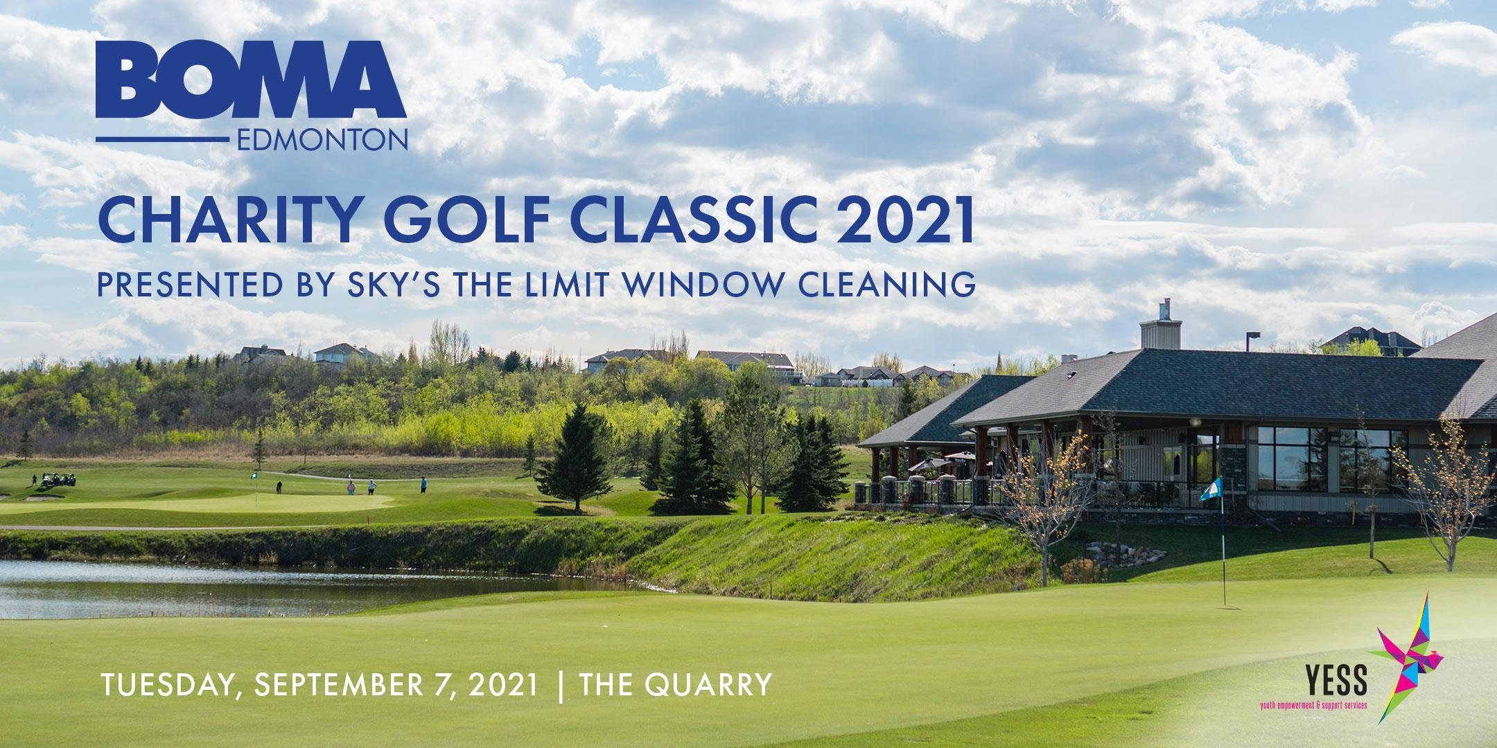BOMA Edm Charity Golf Classic—Presented By Sky's The Limit Window Cleaning