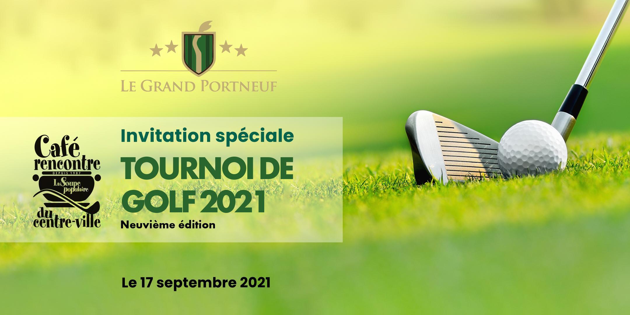 Tournoi de golf annuel Café-rencontre du centre-ville - 9ième édition