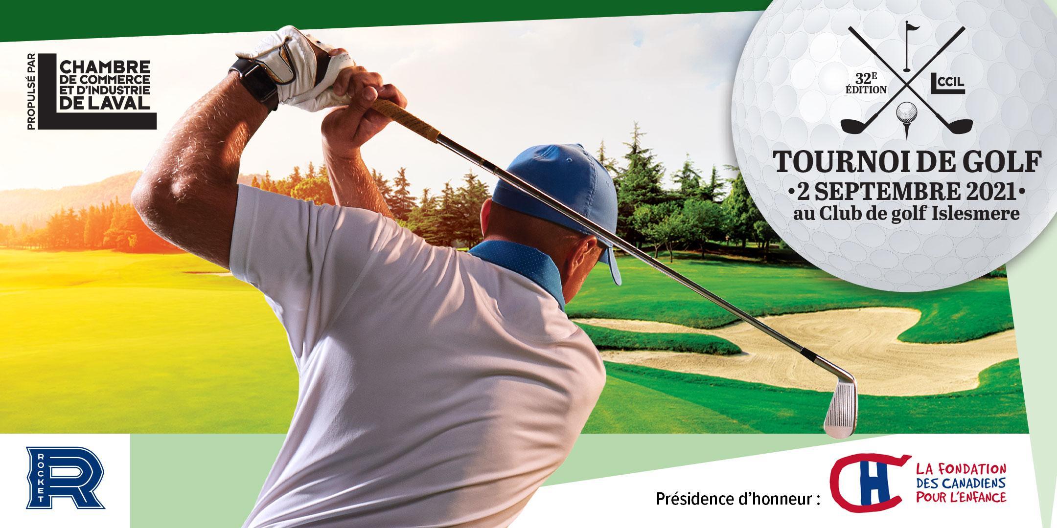 Tournoi de golf CCILaval 2021