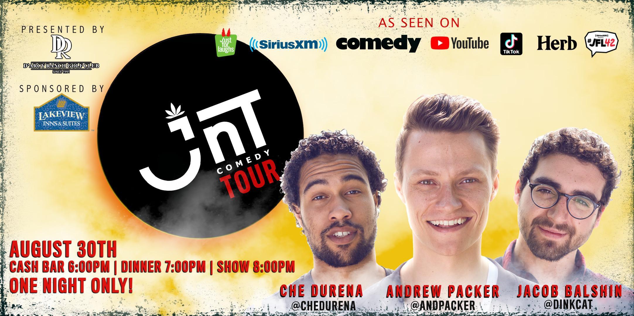 Comedy Night   JNT Comedy Tour @ D'Arcy Ranch Golf Club Okotoks