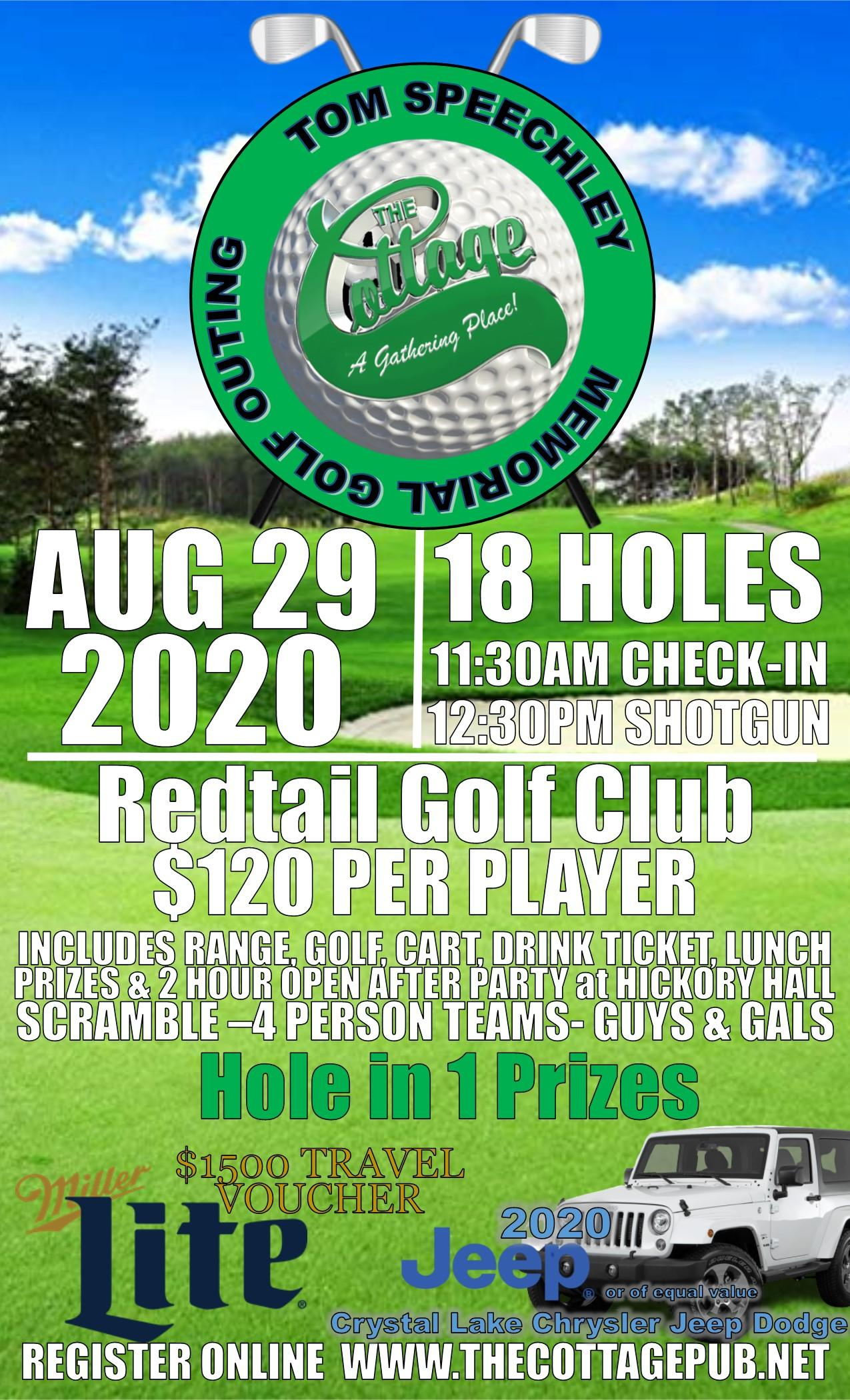 The Cottage Charity Golf Outing