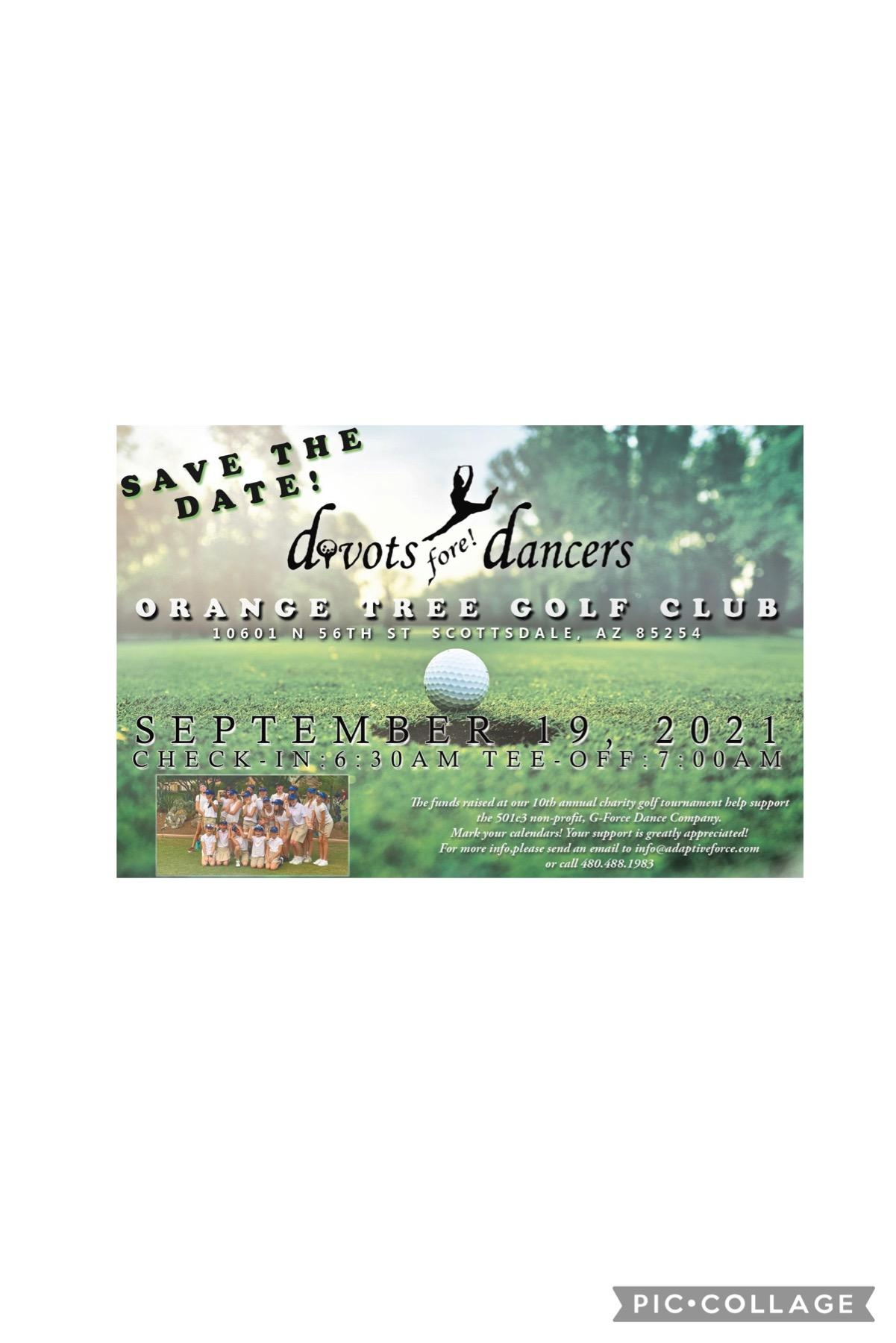 Divots Fore! Golfers
