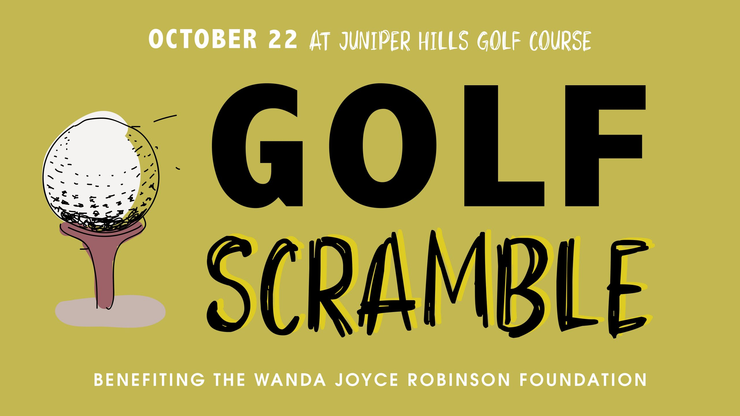 WJRF Golf Scramble