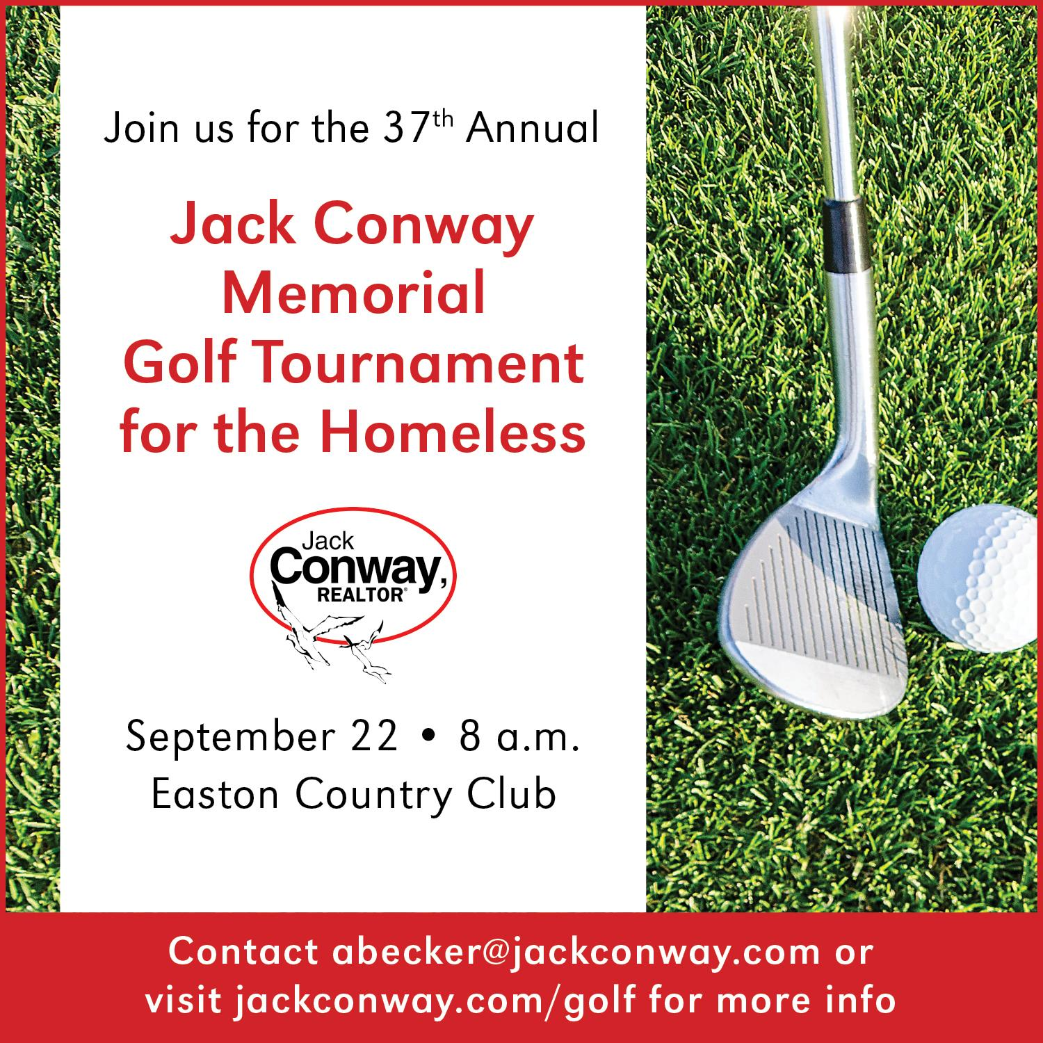 37th Annual Jack Conway Memorial Golf Tournament for the Homeless