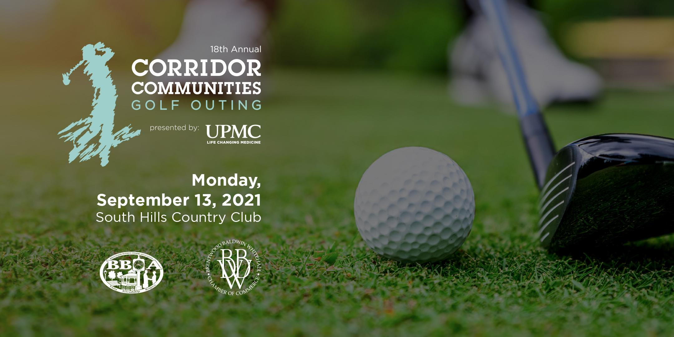 18th Annual Corridor Communities Golf Outing