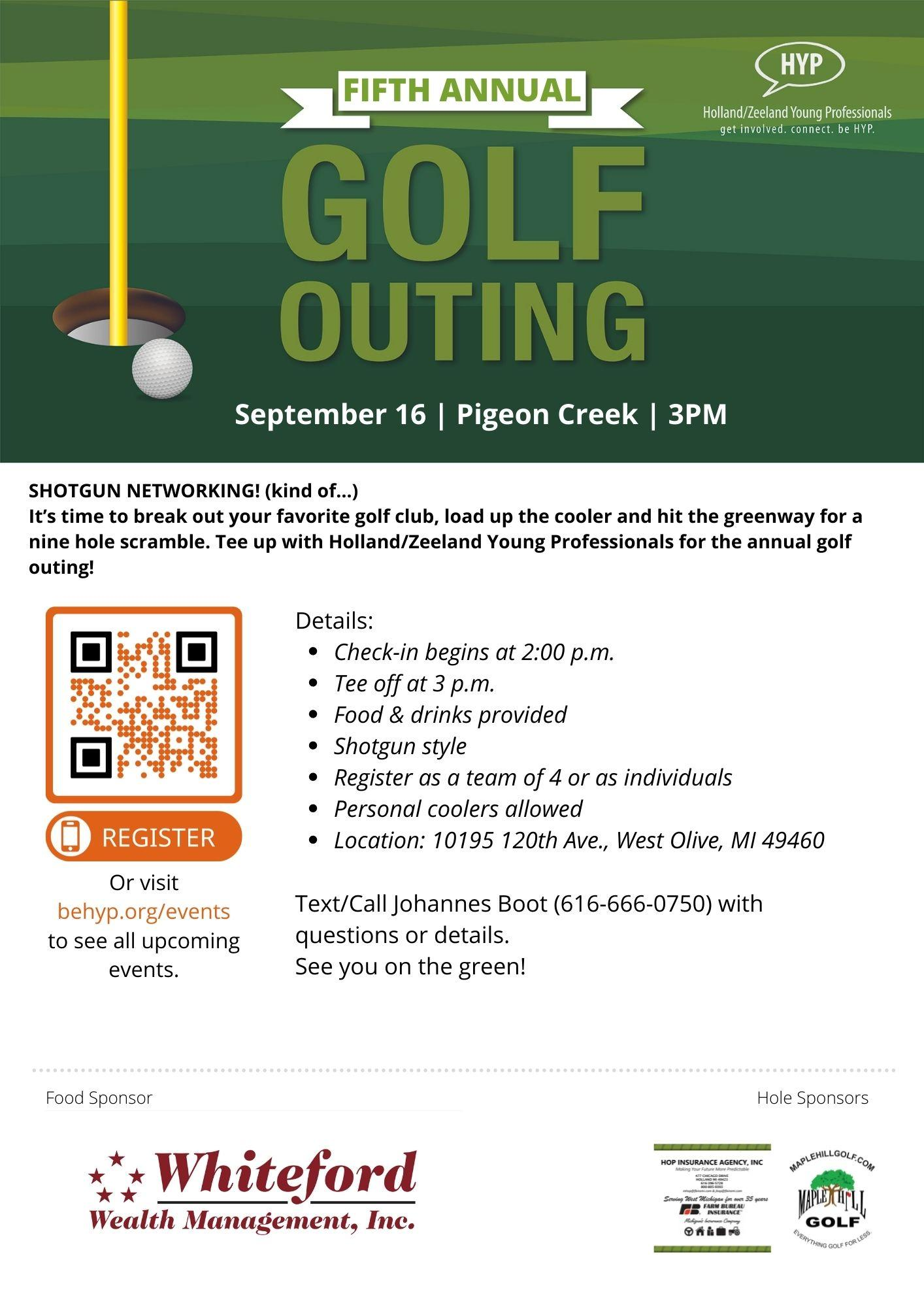 HYP Annual Golf Outing