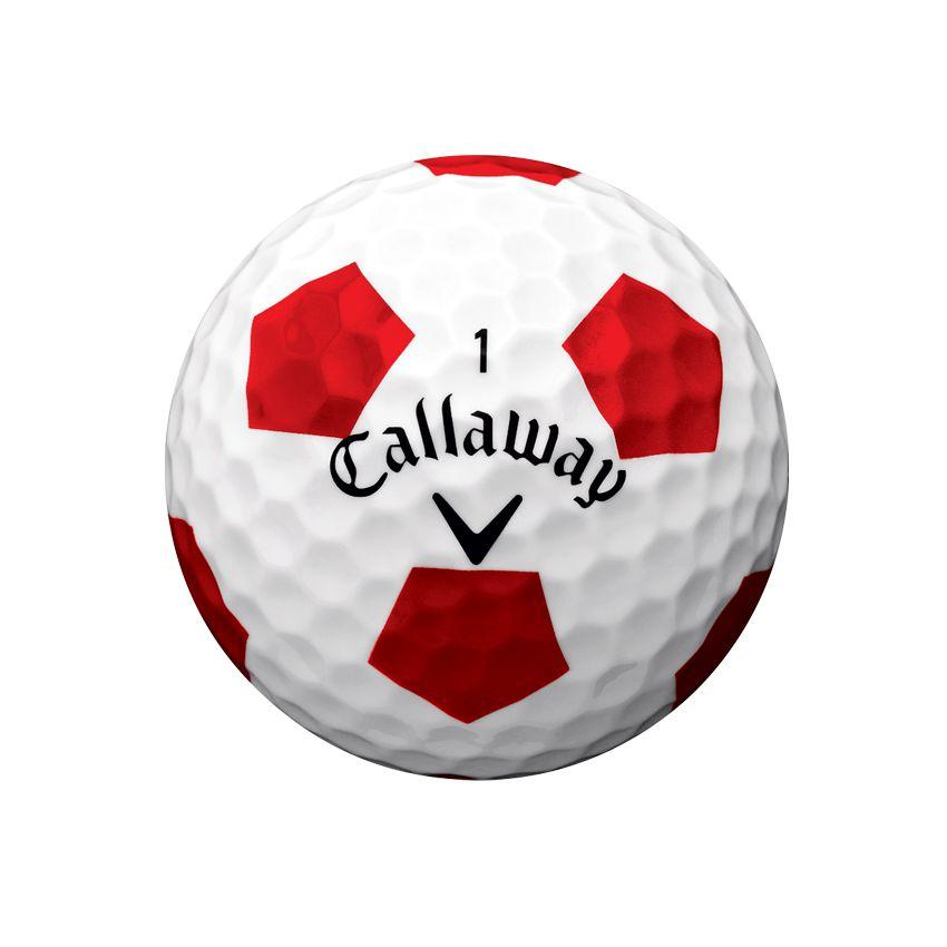 Callaway ChromeSoft TruVis Ball View